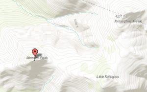 Menden Peak