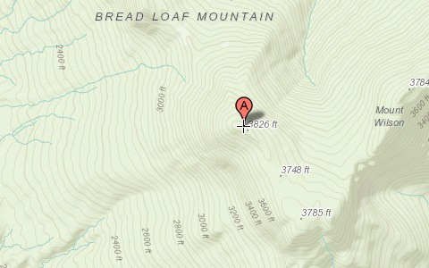 Breadloaf Mountain